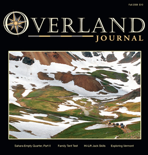 Overland Journal cover